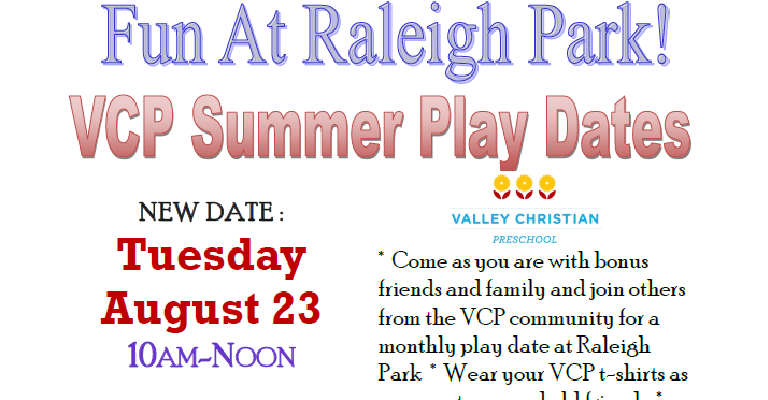 Summer park play date August rev.