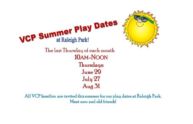 VCP Summer play dates 2017 - web