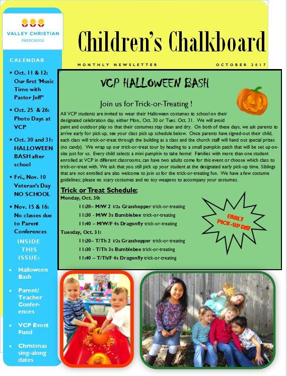 Newsletter Oct. 2017 pg.1